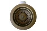 Сливная арматура AquaSanita Ventil AQ-001V-Pirite (82000-4-Pirite) бронза