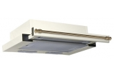 Вытяжка для кухни Elikor Интегра 60П-400-В2Л крем/рейлинг бронза