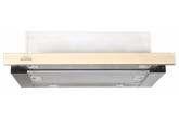 Вытяжка для кухни Elikor Интегра GLASS 60Н-400-В2Г нерж/стекло бежевое