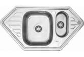 Угловая мойка для кухни Sinklight 950x500x2