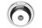 Мойка для кухни Sinklight N 490 0.8/180 1D (*12)