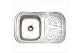 Мойка для кухни Sinklight N 7549 U 0.8/180 1D (*10)