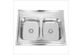 Мойка для кухни Sinklight N 8060 0.8/180 2P (*5)