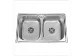 Мойка для кухни Sinklight N 7848 0.8/180 2P (*5)