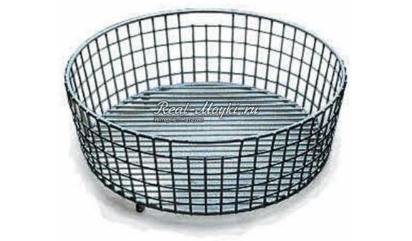 Круглая стальная корзинка для Centroval 45 TG