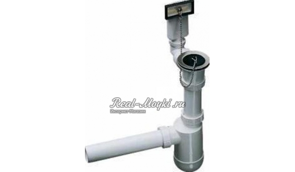 Отводная арматура Blanco 1 137978 с переливом и сифоном