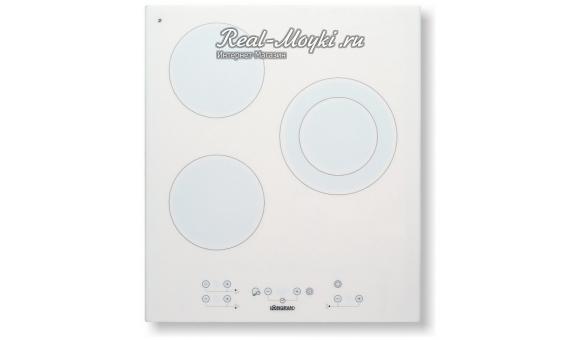 Варочная панель Longran FH4550 440x510 EL, White Ceramic