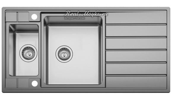 Мойка для кухни Seaman Eco Roma SMR-9750B2