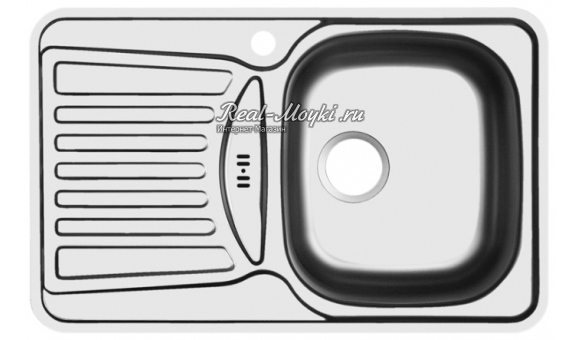 Мойки для кухни Юкинокс Комфорт COP780.480 -GW8K