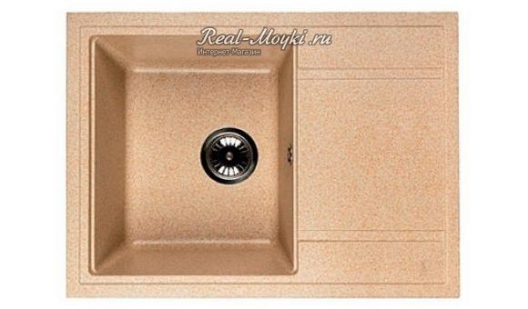 Гранитная мойка для кухни Whinstone Мунго 650 (B26)