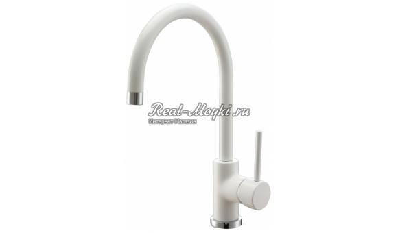 Смеситель для кухни Kordi White Calcium KD 3305-D6/Белый