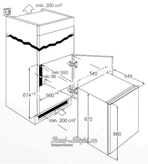 Electrolux ern 1300 aow схема установки