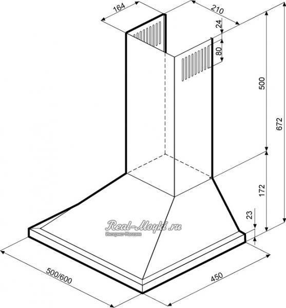 Вытяжка Крона Steel инструкция
