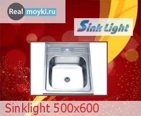 Кухонная мойка Sinklight 500x600
