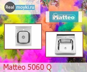 Кухонная мойка Matteo 5060 Q (LAGUNA 2)