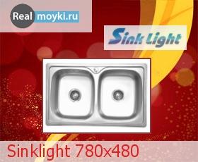 Кухонная мойка Sinklight 780x480
