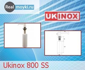 Дозатор для кухни Ukinox 800 SS