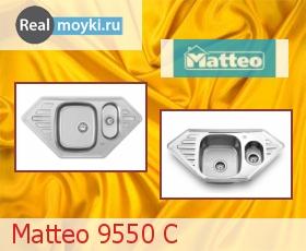 Кухонная мойка Matteo 9550C (MEDUSA C)