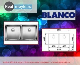 Кухонная мойка Blanco Andano 400-IF-A