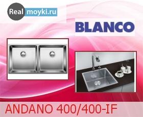 Кухонная мойка Blanco ANDANO 400/400-IF
