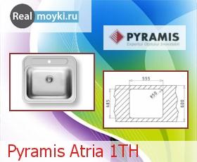 Кухонная мойка Pyramis Atria 1TH