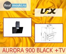 Кухонная вытяжка Lex Aurora 900 Black+TV