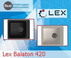 Кухонная мойка Lex Balaton 420