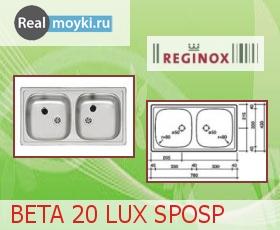 Кухонная мойка Reginox Beta 20 Lux SPOSP
