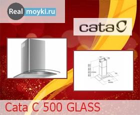 Кухонная вытяжка Cata C 500 Glass