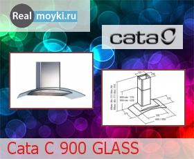 Кухонная вытяжка Cata C 900 Glass
