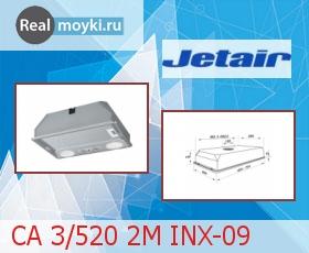 Кухонная вытяжка Jet Air CA 3/520 2M INX-09