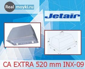Кухонная вытяжка Jet Air CA EXTRA 520 mm INX-09