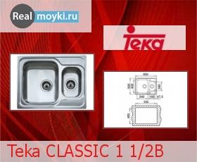 Кухонная мойка Teka CLASSIC 1 1/2B
