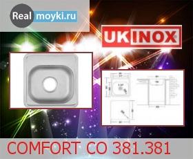 Кухонная мойка Ukinox Комфорт CO 381.381