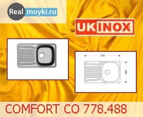 Кухонная мойка Ukinox Комфорт CO 778.488