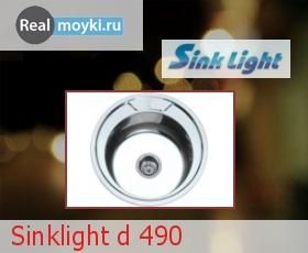 Кухонная мойка Sinklight d 490