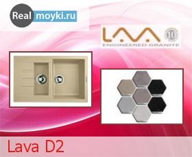 Кухонная мойка Lava D2