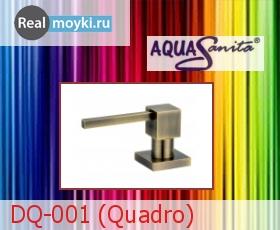 Дозатор для кухни Aquasanita DQ-001 (Quadro)