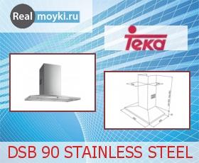 Кухонная вытяжка Teka DSB 90 STAINLESS STEEL