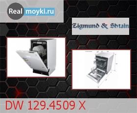Посудомойка Zigmund Shtain DW 129.4509 X