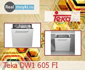 Посудомойка Teka DW1 605 FI