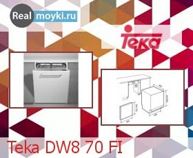 Посудомойка Teka DW8 70 FI