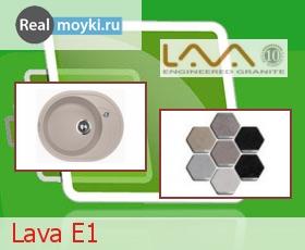 Кухонная мойка Lava E1