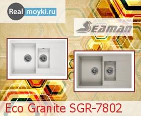Кухонная мойка Seaman SGR-7802