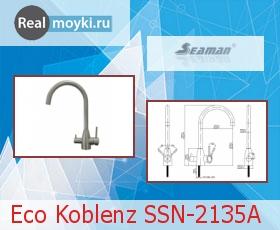 Кухонный смеситель Seaman Eco Koblenz SSN-2135A