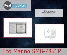 Кухонная мойка Seaman SMB-7851P
