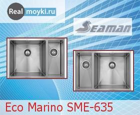 Кухонная мойка Seaman Eco Marino SME-635