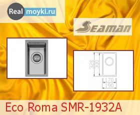 Кухонная мойка Seaman Eco Roma SMR-1932A