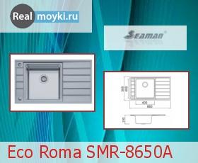 Кухонная мойка Seaman SMR-8650A