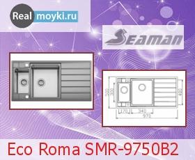 Кухонная мойка Seaman Eco Roma SMR-9750B2